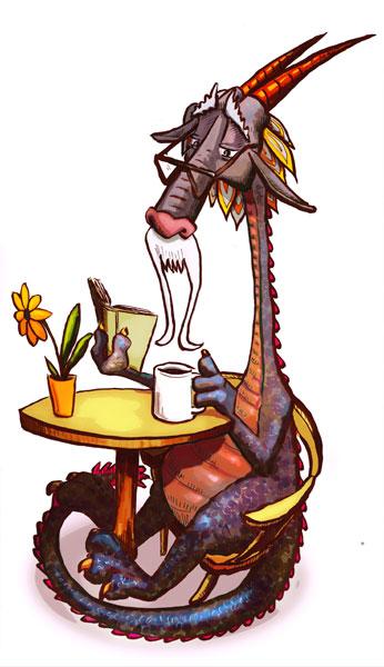 Resultado de imagen de cafe dragon
